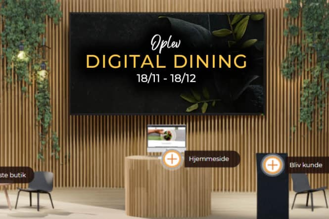 Oplev Digital Dining